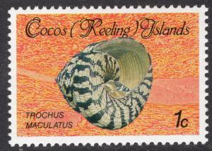 Cocos Islands Scott 135
