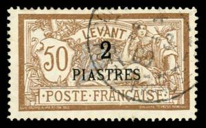 French Offices Abroad - Levant 35 Used