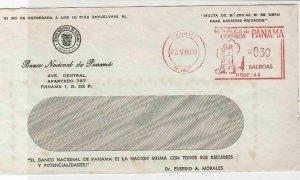 Panama 1970 Banco National de Panama Machine Balboas Cancel Stamps Cover R 17640