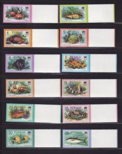 Tuvalu 96-108, 109-113 MNH Fish (B)