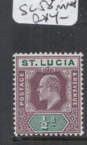 St Lucia SG 58 MNH (4dfd)