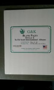 G&K Blank Pages Style C to Scott International
