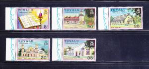 Tuvalu 38-42 Set MNH Christmas