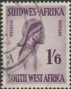South West Africa, #257 Used, From 1954