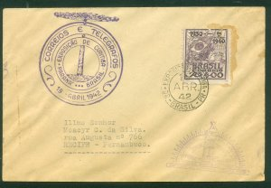 Brazil CURITIBA EXPOSITION COVER WITH, VARIOUS CACHETS..F.  (10)