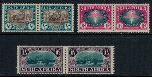 South Africa #B9-11*  pairs  CV $51.50