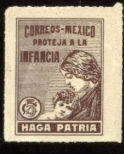 MEXICO RA7, 5cents Postal Tax for Children. MINT, NH. F-VF..