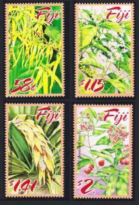 Fiji Perfumed Flowers 4v SG#1255-1258