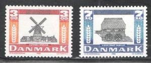 Denmark #861-862 Unused,  VF,  CV  5.60  ...   1671865