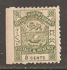 North Borneo  SC 42 Mint  Hinged