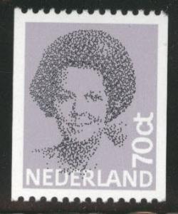 Netherlands Scott 632 MNH** 70c Queen Beatrix coil stamp