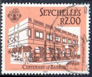 Seychelles 1987 2r Development Bank used