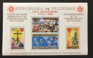 Philippines 1976 #C108 S/S, Overprint, MNH(see note).