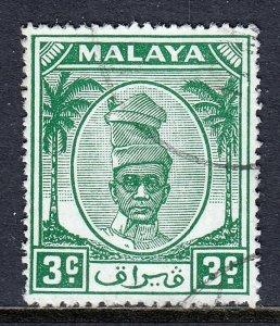 Malaya (Perak) - Scott #107 - Used - SCV $1.40