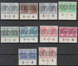 Germany - 1948 Currency Reform HAN stamp lot - MH/MNH (7094)