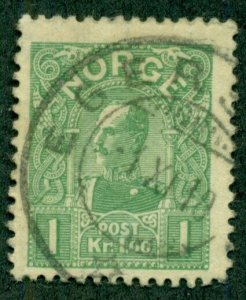 NORWAY #64, Used, Scott $35.00
