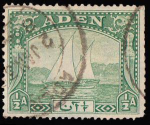 Aden Scott 1 Used with short perforations.
