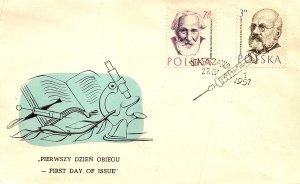 Poland, Worldwide First Day Cover, Medical