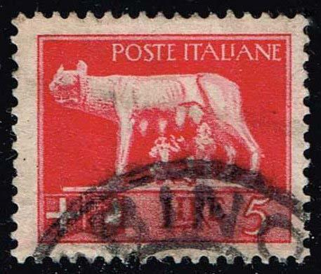 Italy #227 Romulus and Remus; Used (0.25)