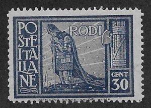 ITALY - RHODES SC# 19   F/MOG
