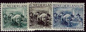 Netherlands B41-B43 Mint F-VF... Worth a close look!