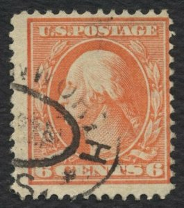 #336 6c Washington, Used [5] **ANY 4=FREE SHIPPING