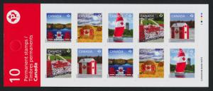 Canada 2616b Booklet BK521 MNH Canadian Pride, Flag, Yacht