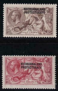 Bechuanaland Protectorate 1920-1923 SC 94-95 MLH SCV $240.00 Set