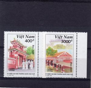 Vietnam 1996 Sc#2723/2724 Hue School Cent.Set (2) MNH VF