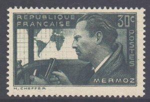 France SG570 - YT 337, 1937 Mermoz 30c MH*