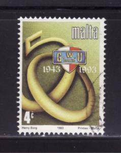 Malta 825 Set U General Worker's Union (B)