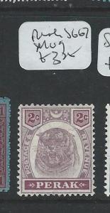 MALAYA PERAK (P1208B) 2C TIGER SG 67  MOG