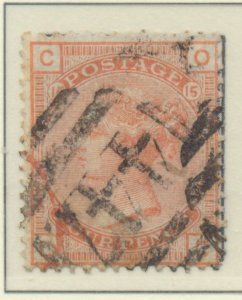 Great Britain Stamp Scott #69, Used - Free U.S. Shipping, Free Worldwide Ship...
