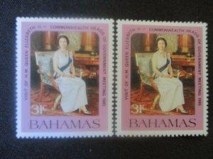 Bahamas #586-87 Mint Never Hinged WDWPhilatelic (H6L8)