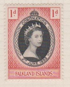 Falkland Islands Sc#121 MH