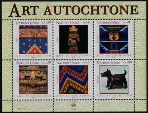 United Nations - Geneva 405 MNH Indigenous Art
