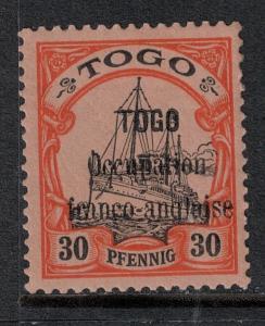Togo 1914 SC 160 Mint SCV $100.00