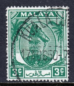 Malaya (Selangor) - Scott #82 - Used - SCV $2.00