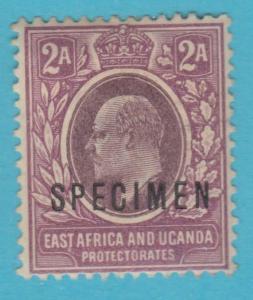 BRITISH EAST AFRICA 3 - SPECIMEN O/P - MINT HINGED OG *  NO FAULTS VERY FINE !