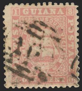 British Guiana Scott 18 Gibbons 29 Used Stamp