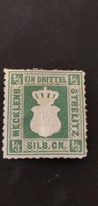 Germany Mecklenburg-Strelitz #2a Mint