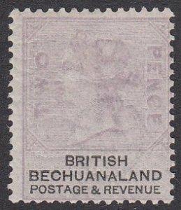 Bechuanaland 12a, SG11a MLH CV $50.00