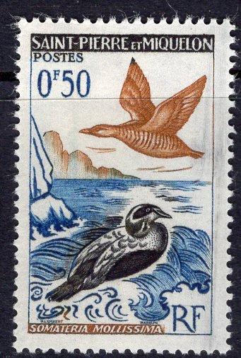 St. Pierre & Miquelon (1963) #362 MH