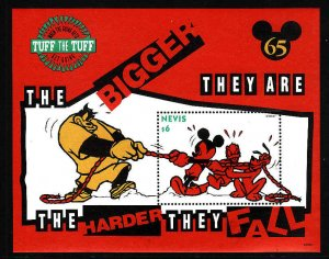 Nevis MNH S/S 837 Disney's Mickey In A Tug Of War 1994