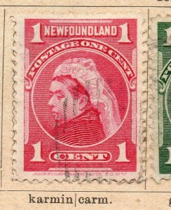 Newfoundland 1897-98 Early Issue Fine Mint Hinged 1/2c. NW-11937