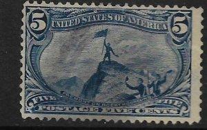 US 288    USED,     JOHN CHARLES FREMONT, ROCKY MOUNTAINS