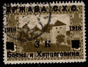 Yugoslavia Scott 1L14 Used stamp 1918