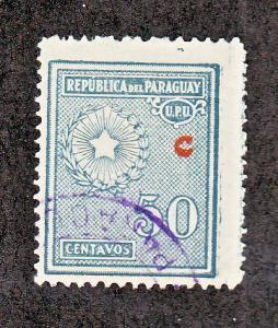 Paraguay Scott #L15 Used