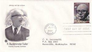 2004, Honoring R. Buckminster Fuller, PCS, FDC (E12223)