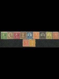 USA, 1922-1925, MNH, collection